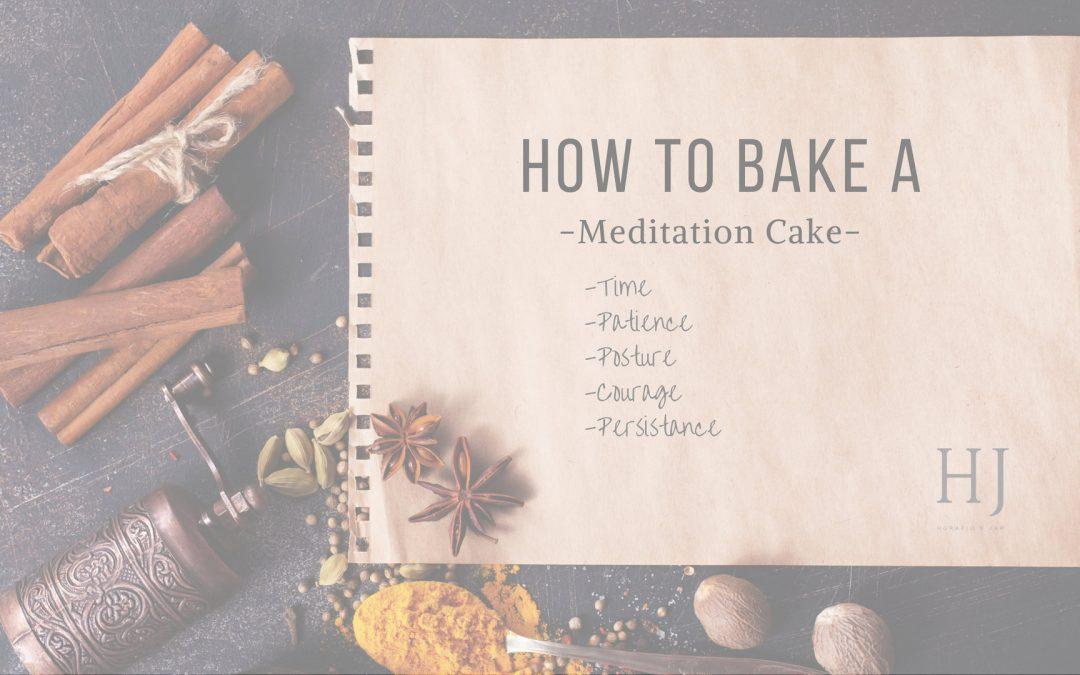 Protected: How To Make A Meditation Cake – A Meditation Recipe